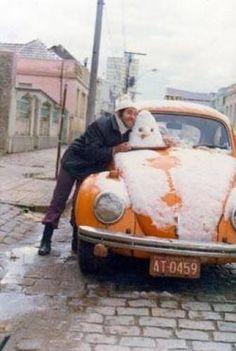 Neve em Curitiba, 1975