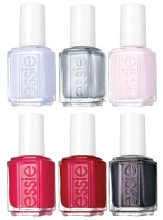 Essie Virgin Snow Winter 2015 Collection