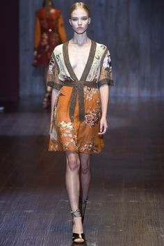 Milan Fashion Week Spring 2015: From the Runway - Gucci Spring 2015