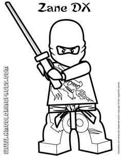 Download and Print These Latest LEGO Ninjago Coloring Pages | 305x236