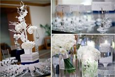Winter Wonderland Wedding  http://intertwinedevents.com/blog/