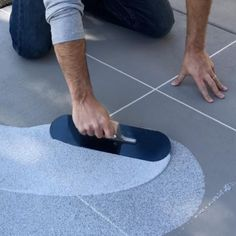 Add beauty to your outdoor concrete floors by using this SpreadRock Granite Stone Coating Flint Gray Satin Interior or Exterior Concrete Resurfacer and Sealer. Concrete Porch, Concrete Bricks, Concrete Stone, Granite Stone, Concrete Floors, Painting Concrete Patios, Patio Flooring, Stamped Concrete, Concrete Floor Coatings