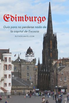 Que ver en Edimburgo en 2 o 3 dias #Escocia Glasgow, Edinburgh, Travel Around The World, Around The Worlds, England, Never Stop Exploring, Back To The Future, Scotland Travel, Vintage Travel