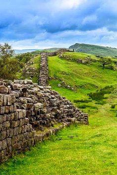 Hadrians Wall, Northumberland, England