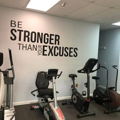 346 best motivational gym wall decals images in 2020