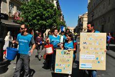 Caminando en Sevilla por el Derecho al Agua