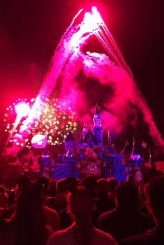 The Very Best Places to View Disneyland Fireworks Disneyland California, Disneyland Resort, Fireworks Show, The Good Place, Have Fun, Night Time, Places, Summer, Magic