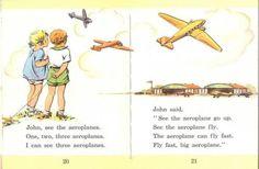 JANET & JOHN school textbooks run spot run - remember reading like this? ~ Old Wellington Region 12 Jan 2015