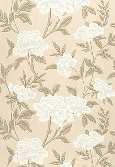 Schumacher Whitney Floral Wallpaper Taupe 5004383 is part of Hand painting Wallpaper - Schumacher Whitney Floral Wallpaper Painting Wallpaper, Wallpaper Roll, Pattern Wallpaper, Vintage Wallpaper Patterns, Accent Wallpaper, Interior Wallpaper, Architecture Wallpaper, Wallpaper Gallery, Wallpaper Decor