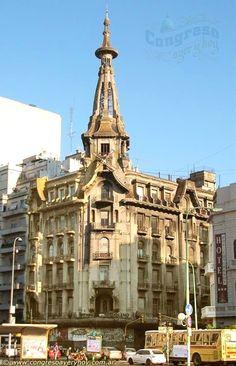 La Confitería del Molino - Joya del Art Nouveau   Cúpulas de Buenos Aires #argentina  Argentina  Acceda a nuestro sitio Mucho más información  http://storelatina.com/argentina/travelling #traveling #viajeargentina #argentinatravel