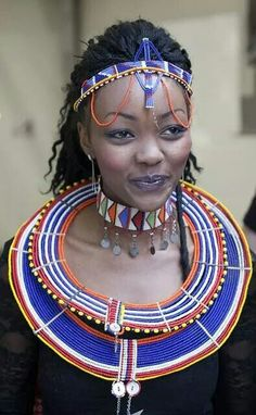 Kenyan-Massai - bride