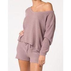 Pullover aus Bio-Baumwolle gestrickt zartrosa…