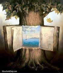 I like that the tree opens like a book