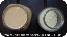 NeoHomesteading: Homemade SOAKED Almond Flour & Almond Butter
