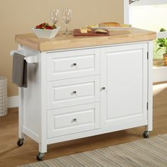 Target Marketing Systems Monterey Kitchen Cart - 20550ESP