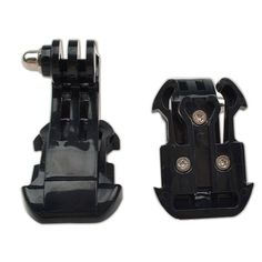 1pcs Vertical Surface J-Hook Buckle Mount Adapter Holder for Gopro HD Hero 3+ 3 2