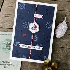 Karten-Kunst » Maritimer Glückwunsch