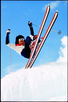 Wayne Wong, the face of American freestyle skiing in the 1970's #SkiMag #ski #vintage