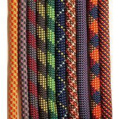 Climbing rope woven patterns