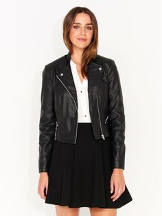 Image for Penny Pu Moto Jacket from Portmans