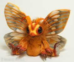 moth art doll by magweno