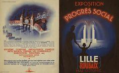 L'exposition du Progrès Social Lille Roubaix en 1939