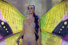 Katy Perry wears sheer naked bodysuit at MuchMusic Awards