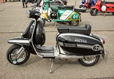 Mod Scooter, Lambretta Scooter, Vespa Scooters, Motor Scooters, Sidecar, Chopper, Motorcycle, Vehicles, Greece