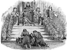 king solomons throne