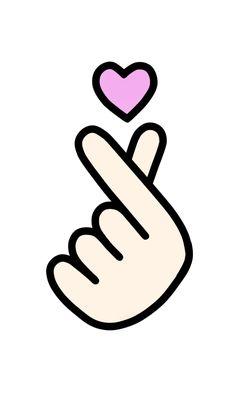 """""""Floral Heart: Human Anatomy Cornflower Valentines Day Gift"""" Stickers by Ossuarium Floreus Exo Stickers, Korean Stickers, Tumblr Stickers, Cute Stickers, Finger Heart, Heart Hands, Hand Heart, Hand Sticker, Bts Birthdays"""