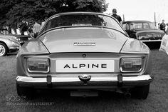 1977 Alpine A110 SX Berlinette - Black & White by StewartMunn