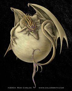 Venus Dragon - by Rob Carlos