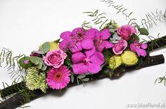 Met #Vanda #Orchideen… – Floral Blog | Bloemen, Workshops en Arrangementen | www.bissfloral.nl