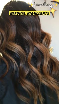 Ombré Hair, Curly Hair Tips, Curly Hair Styles, Natural Highlights, Brown Hair Balayage, Hair Color Techniques, Hairspray, Pretty Hairstyles, Hair Hacks