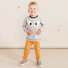 ROCK STAR baby housut, toffee / Hauska NOSH syksyn ennakkomallisto 2016 on nyt saatavilla. Tee tilaus NOSH vaatekutsuilla, edustajalta tai verkosta nosh.fi (This clothing collection is available only in Finland but you can shop these wonderful prints from our SS16 fabric collection at en.nosh.fi)