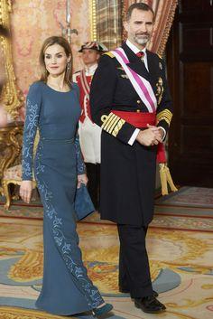 Rainha Letizia de Espanha. / Queen Letizia of Spain.