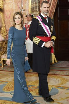 Queen Letizia's Latest Will Convince You That Matchy-Matchy Is a Glorious Thing
