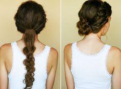diy- halo braids | Mimi & Taylor Blog