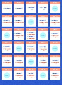 30 Day Kettlebell Workout Challenge
