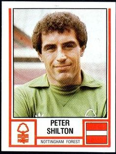 Peter Shilton Nottingham Forest Panini Sticker from 1981