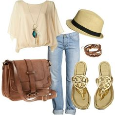 Summertime and the living is easy... Casual summerlook <3