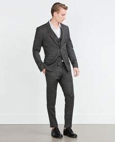 ZARA - MAN - HOUNDSTOOTH SUIT