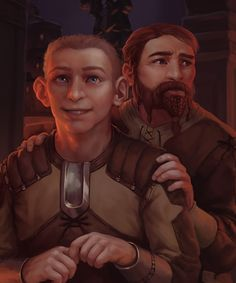 The unsong heroes of Dragon Age: Bodahn and Sandal! Heroes Of Dragon Age, Solas Dragon Age, Dragon Age Memes, Dragon Age Characters, Dragon Age 2, Dragon Age Inquisition, Dragon Age Funny, Dragon Age Origins, Funny People Pictures