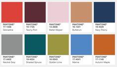 Farbtrends Herbst 2017 New York Pantone