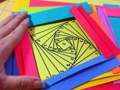 Make Colorful Folded Paper Book Covers (Dollar Store Crafts ...