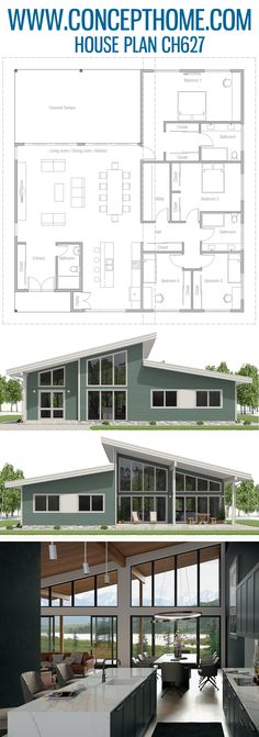 Home Layout Plans 375417318940847601 - Source by cecekno Plans Architecture, Modern Architecture House, Architecture Design, Minimalist House Design, Modern House Design, Modern House Plans, House Floor Plans, Sims House Plans, The Plan