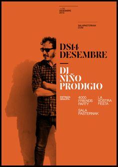 Niño Prodigio Poster #grafica #poster #colori