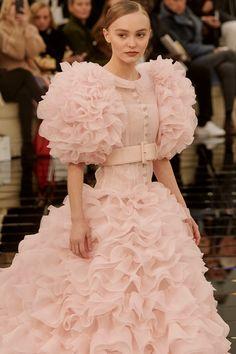 Lily-Rose Depp scores fashion honour as Chanel couture bride