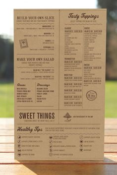 menu as inspiration. See the grid: