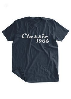 Classic 1966 T-shirt 50th Birthday Tshirt 50th by BumpCovers